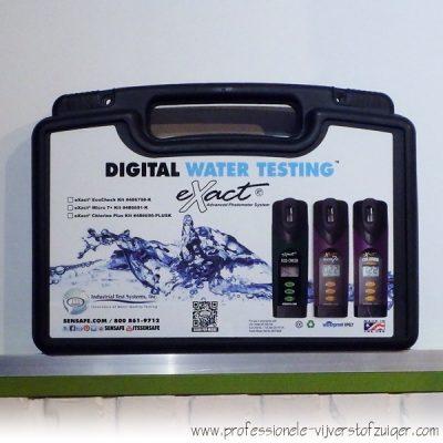 Gebruiksaanwijzing Meetapparatuur waterkwaliteit mineralen nutrienten zwemvijver vijveronderhoud Navicula