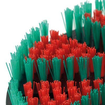Harde borstel voor de Biber 22 automatische wandborstel, van het type Rood/groen.