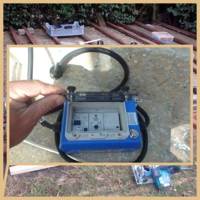 De professionele persoonlijke beveiligingstekker BLUE BOX PRO gebruik je bij elk toestel of waterpartij op werven. De elektrische beveiliging biedt 100% extra veiligheid tegen elektrocutie.