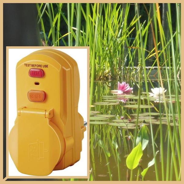 De persoonlijke beveiligingstekker YELLOW MATE gebruik je bij elk toestel of waterpartij in buitenlucht. De elektrische beveiliging biedt 100% extra veiligheid tegen elektrocutie.