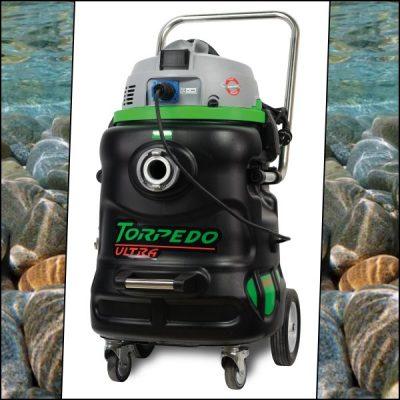 Torpedo Ultra. Professionele vijverstofzuiger voor vijveronderhoud en efficient beheer van zwembad zwemvijver en sauna / wellness centra.