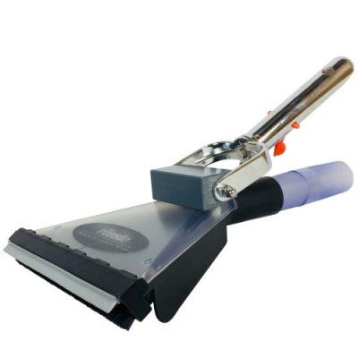 Transparante 'Flat Nose' mondstuk voor verwijderen van biomat en bodemalgen. Compatibel met FANGO 2000 vijverstofzuiger.