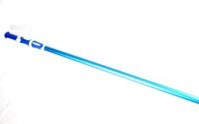 Aluminium telescopische steel voor vijveronderhoud voor borstels, schepnet of vijverstofzuiger.