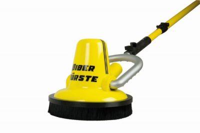 Opwarrelingsring voor de biber 22 automatische wandborstel om vuil werveling tegen te gaan.