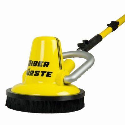 Deze turbulentie ring voor de Biber 22 gemotoriseerde wandborstel verhindert opwarreling van losliggend vuil terwijl je schrobt.